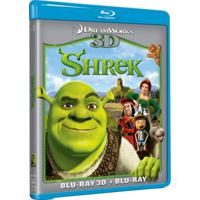 Sherek O Filme - Blu Ray 3D+Blu Ray / Filme Infantil