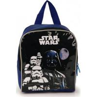 Lancheira Infantil Luxcel Star Wars Azul