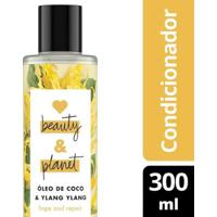 Condicionador Hope And Repair Óleo De Coco & Ylang Ylang Love Beauty And Planet 300Ml - Feminino-Incolor