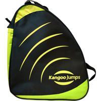 Bolsa Kangoo Jumps Kj Bag Preto/Amarelo - U