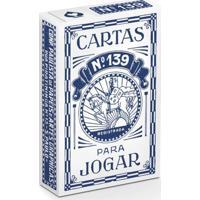 Baralho 139 Edição Especial Retrô Azul - Copag