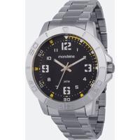 Kit Relógio Masculino Mondaine 99350G0Mvne4K Analógico 3Atm + Canivete