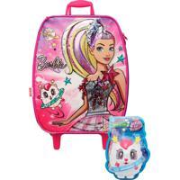 Mochilete Barbie Aventura Nas Estrelas G - Sestini