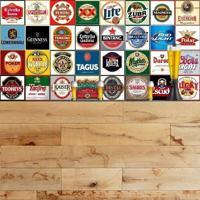 Adesivo Azulejos Rótulos De Cervejas Famosas