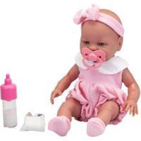 Boneca Roma Babies Primeira Mamadeira - Unissex-Incolor