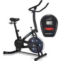 Bicicleta Ergométrica Spinning Podiumfit S100 Silenciosa Roda 8Kg - Unissex