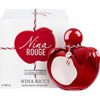 Perfume Nina Ricci Rouge Feminino Edt 80Ml - Feminino-Incolor