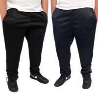 Kit 2 Calças Plus Size Esportiva Tecido Agasalho Cós De Elástico Bolsos Laterais 358
