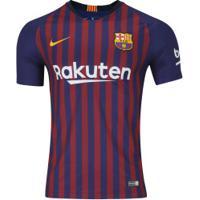 Camisa Barcelona I 18/19 Nike - Masculina - Azul Escuro