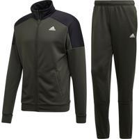 Agasalhos Fitness E Funcional Adidas Badge Of Sport Verde