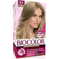 Tintura Biocolor Louro Claro Acinzentado 8.1