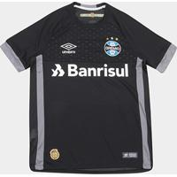 7a949c67d8b8a Netshoes  Camisa De Goleiro Grêmio 18 19 Umbro Masculina - Masculino