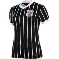 Camisa Nike Corinthians Ii 2020/21 Torcedora Pro Feminina