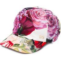 Dolce & Gabbana Kids Blusa Floral - Rosa