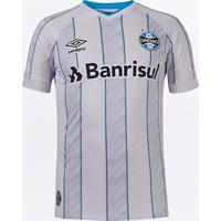Camisa Grêmio Ii 20/21 S/N° Torcedor Umbro Masculina - Masculino