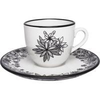 Aparelho De Jantar Chá E Café Porcelana Floresta Oxford