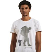 Camiseta Joss Premium Montains - Masculino-Branco