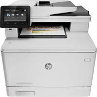 Multifuncional Hp Color Laserjet Pro Mfp M477Fdw Wireless - Impressora, Copiadora, Scanner E Fax