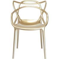 Cadeira Master Allegra Polipropileno Champagne - 26409 - Sun House
