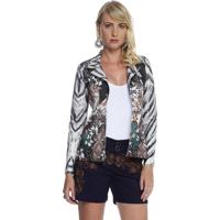 Blazer Energia Fashion Animal Tie Dye Verde