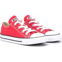 Converse Kids Tênis Cano Baixo - Vermelho