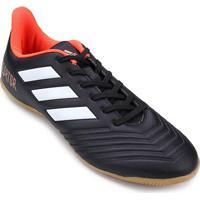 3a45a90aa Netshoes; Chuteira Futsal Adidas Predator 18 4 In - Unissex
