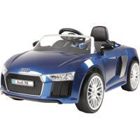 Carrinho 6 Voltz Audi R8 Blue Azul Xalingo