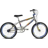 Bicicleta Verden Trust Cromo - Aro 20 - Sem Marchas Prata/Azul
