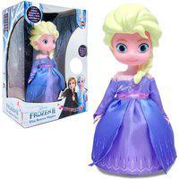 Boneca Frozen Elsa Musical Dançarina Disney Presente Menina
