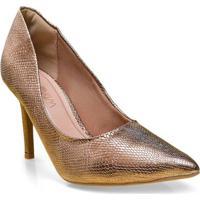 Sapato Fem Ramarim 16-23101 Bronze
