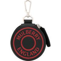 Mulberry Chaveiro Com Logo - Preto