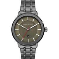 Relógio Armani Exchange Ax1472/1Pn 45Mm Aço Masculino - Masculino