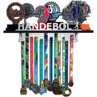 Porta Troféus E Medalhas Handebol Feminino - Feminino-Incolor