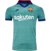 Camisa Barcelona Iii 19/20 Nike - Masculina - Aqua
