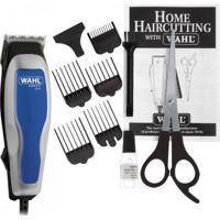 Máquina De Corte 220V Home Cut Basic Prata/Azul Wahl