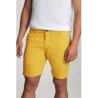Bermuda Lorenzo Girassol Masculina - Masculino-Amarelo