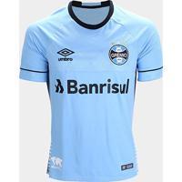 Camisa Grêmio Ii 2018 S/N° Charrua C/ Patrocínio - Torcedor Umbro Masculina - Masculino