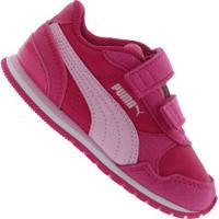 Tênis Para Bebê Puma St Runner V2 Nl V In - Infantil - Rosa