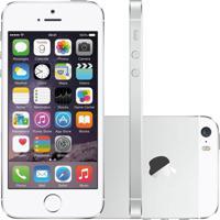 Smartphone Apple Iphone 5S 16Gb Desbloqueado Prata