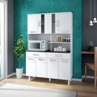 Cozinha Compacta Atenas 8 Pt 2 Gv Branco