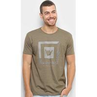 Camiseta Hang Loose Iguana Masculina - Masculino-Verde