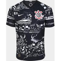 Camisa Corinthians Iii 19/20 Torcedor S/Nº Nike Masculina - Invasões - Onde Houver Corinthians - Masculino