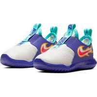 Tênis Infantil Nike Flex Runner Fire - Unissex-Roxo+Branco