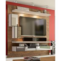 Home Theater Suspenso Com Led E Espelhos Tb109E Dalla Costa Nobre Com Fendi