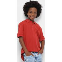 Camisa Polo Infantil Colcci Fun Masculina - Masculino