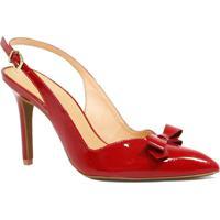Sapato Zariff Shoes Laço Vermelho