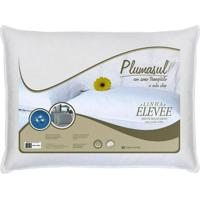 Travesseiro Plumas De Ganso 45X65Cm 233 Fios Branco Plumasul