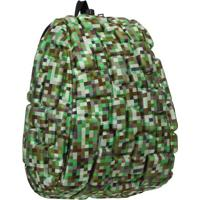 Mochila Blok Infantil Camuflada Verde Madpax