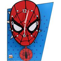 Relógio De Parede Spider Geek10 Azul