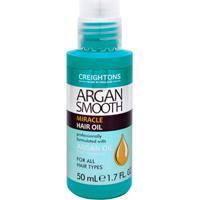 Creightons Argan Smooth Miracle Hair Oil - Óleo Capilar 50Ml - Unissex-Incolor
